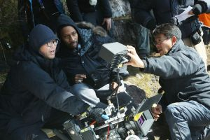 Man-with-the-iron-Fists-RZA-on-Set-with-Cinematographer-Chi-Ying-Chan