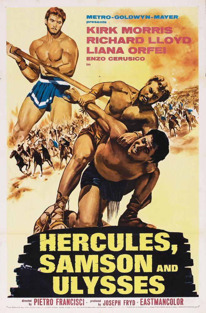 Hercules, Samson, and Ulysses (1963) (1/6)