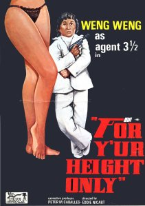 For Your Height Only press book cover