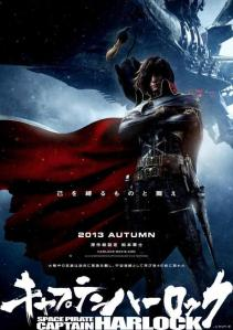Space-Pirate-Captain-Harlock 2013 poster