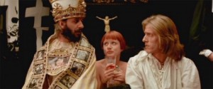 And did I mention Ringo Starr as the Pope?