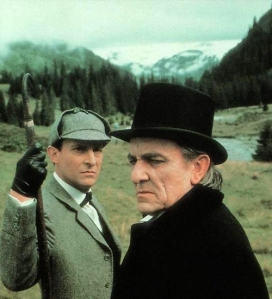 Jeremy Brett and Eric Porter