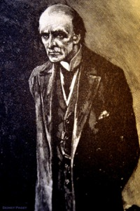 Sidney Paget's illustration of Professor Moriarty